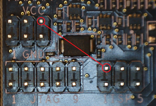 ten pin connections