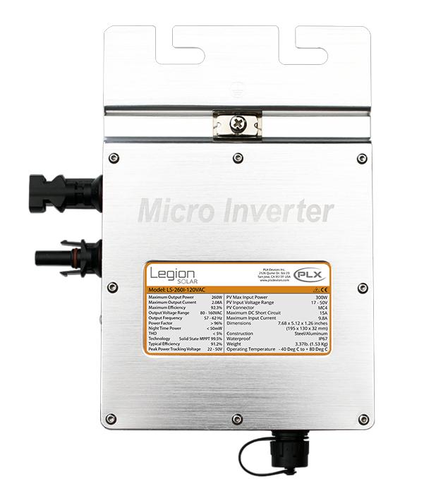 Legion Solar Micro-Inverter LS-260I